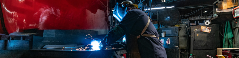 Our Welds Exceed the Industry's Highest Standards